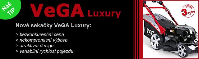 Nové sekačky VeGA Luxury